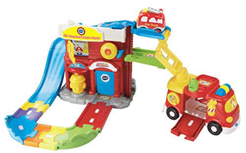 VTech Go! Go! Smart Wheels Fire Command Rescue Center Playset ()