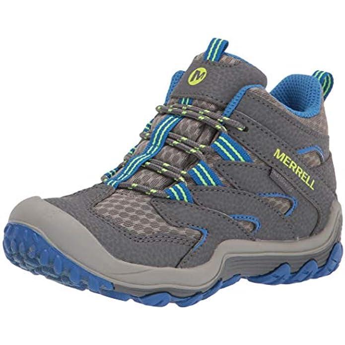 Merrell Unisex-Child Chameleon 7 Access Mid Waterproof Hiking Boot