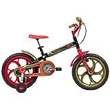Bicicleta Infantil Caloi Power Rex Aro 16 - Preto