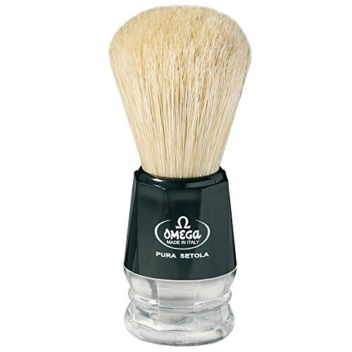 Omega S-Brush Fiber Shaving Brush- S10019