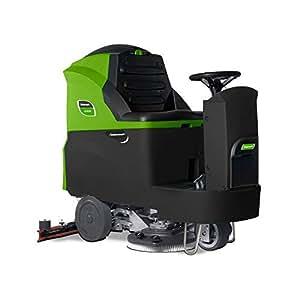 Clean Craft ASSM 850batería Alimentado por aufsitzscheuersaug eléctrica con accionamiento automático y dos cepillos Scheibe