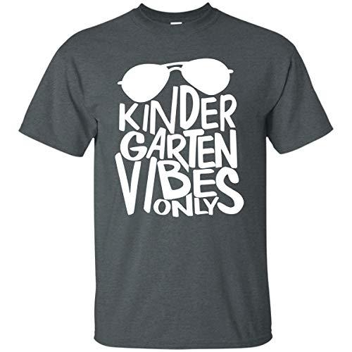 Firever Sunglasses Kinder Garten Vibrate Teacher T-Shirt Dark Heather ()