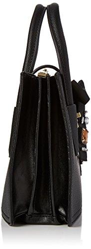 ALDO Damen Eltoro Tote, Schwarz (Black), 8x19.5x25.5 cm