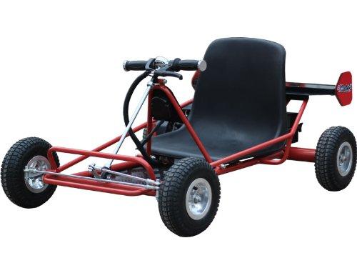 MotoTec Solar Electric Go Kart 24v Red