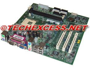 7W080 - Dell Dimension 2350 Motherboard (Chip Pentium 4 Sets)