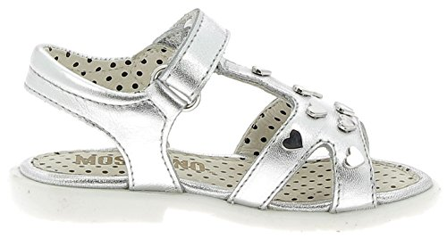 Moschino Sandales Petite Fille Argent