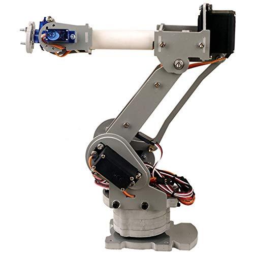 TOOGOO Komplett Montiertes 6-Achsen Servo Steuerung Palettisierungs Roboter Arm Modell Für