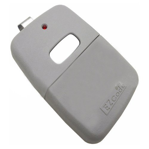 Controls Code - Simply Silver - 10 Digit Pins EZ Code Remote Control Garage Door Gate Opener Transmitter 300 MHz