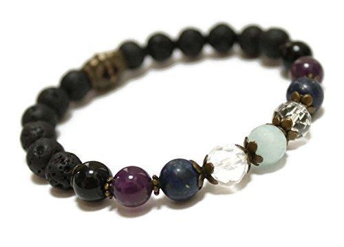 Gemstone Aromatherapy Wellness Bracelet Well being