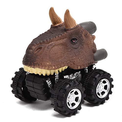 恐竜のおもちゃ プルバック 恐竜の車 クリエイティブなギフト 3~12歳のお子様 楽しいおもちゃ 男の子のギフト SVM033597