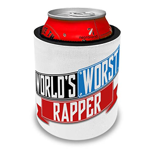 NEONBLOND Funny Worlds worst Rapper Slap Can Cooler Insulator Sleeve