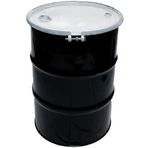Air Sea Containers 55 Gallon Reconditioned Open Head UN Rated Steel Drum with Bolt Lock