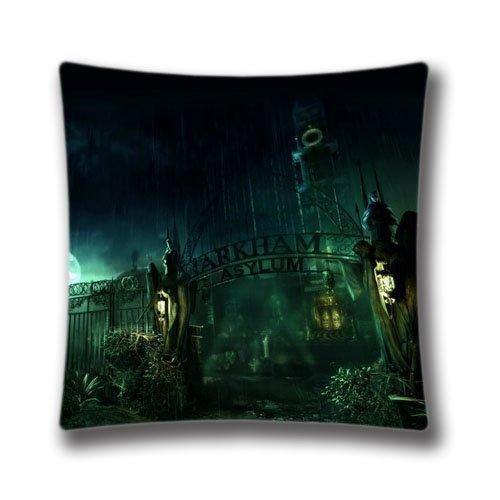 Chair Pillow case Batman Arkham Asylum Pillowcase Home Decor Decorative Pillows Covers 45 Cm 18X18 (Batman Arkham Asylum Halloween)