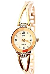 OrangeTag Rose Gold Plated Women's Elegant Rhinestone Bracelet Quartz Watch Fashion Lad...