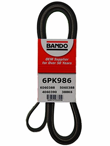 Bando 6PK986 OEM Quality Serpentine - Belt Civic