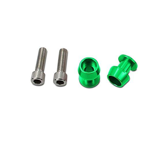 Tuono 1000// R// V4 1100 Factory// RR// Tuono V4 R RXV// SXV 4-5//450//5-5//550 Shiver 750//GT// 900 RSV4// Factory//RF//RR Diabolos Assen M6 vert pour Aprilia RSV Mille