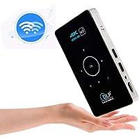 FidgetFidget HD Smart DLP Mini Projector LED Android WiFi 1080P Home Theater HDMI 4K 3D Full