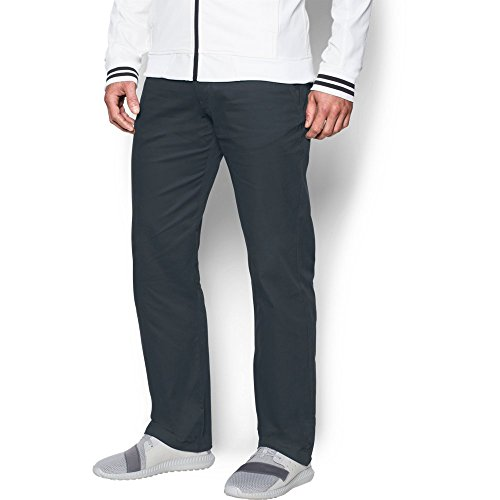 Under Armour Men's Performance Chino – Straight Leg, Stealth Gray/Stealth Gray, 38/34