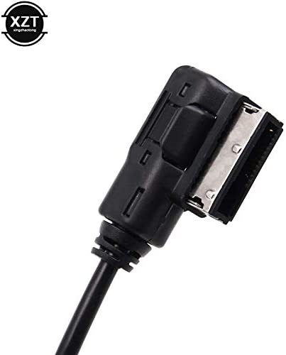 Cable Length: 0.33m, Color: Black ShineBear AMI MMI to Music Interface 3.5mm Audio AUX MP3 Adapter Cable for VW for Audi A3 A4 A5 A6 A8 Q3 Q5 Q7 DY001