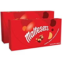 2-Pack Maltesers Original Chocolatey Christmas Candy Gift Box 12.7-Ounce Box