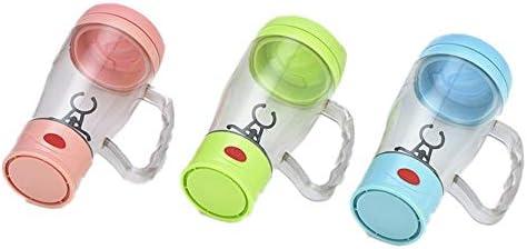 Yeelight USB-Kabel, wiederaufladbar, selbstrührender Becher für Kaffee, elektrischer Eiweiß-Shaker, Mixer, automatischer Rührbecher, abnehmbarer Mixbecher für Büro, Fitnessstudio, Reisen durchsichtig