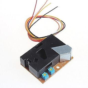 ULIAN Módulos/sensores Arduimo accessonries para Arduino PM2.5 Sensor de Polvo Detector de Polvo para Arduino: Amazon.es: Electrónica