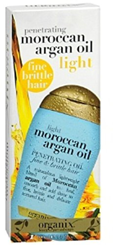 Organix Moroccan Argan Oil Penetrating Oil Light 3.30 oz (Organix Moroccan Argan Oil)