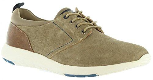 XTI Zapatos de Hombre 46416 Serraje Taupe