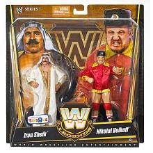 Mattel WWE Wrestling Exclusive True Legends Elite Action Figure 2Pack Iron Sheik Nikolai (Wwe Mattel Iron Sheik)