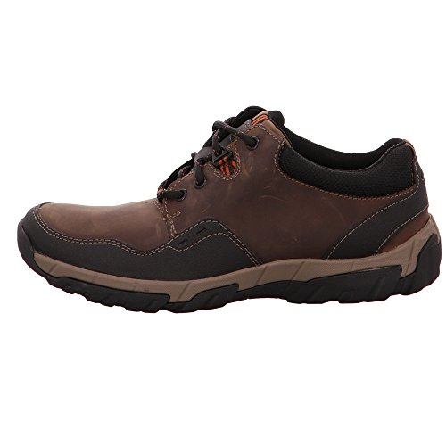 Clarks 26121923, Chaussures de ville à lacets pour homme 04°brown