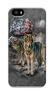 Pride Rock Wolf Polycarbonate Hard Case Cover for Iphone 5C 3D