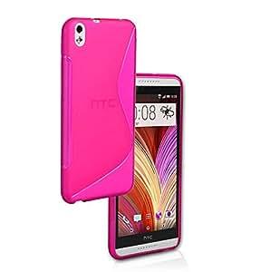 Funda S line tpu para HTC Desire 800 816 D816W A5 de color Rosa