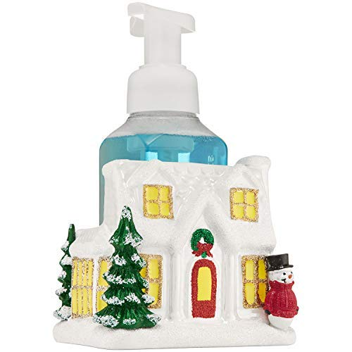 Bath and Body Works Ceramic Holiday House Hand Soap Holder -