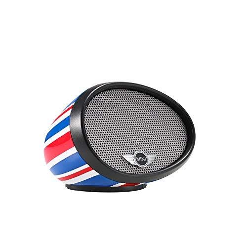 MINI Cooper Compact MIRROR Portable Bluetooth Speaker and Speakerphone PF-328M Union Jack Design