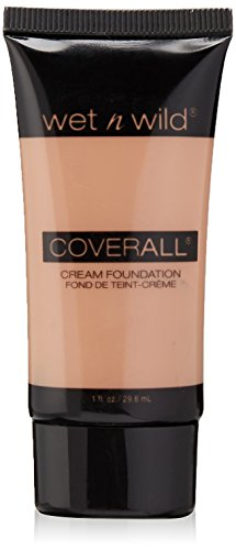 Wet n Wild CoverAll Creme Foundation - Light (Wet N Coverall Wild)