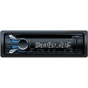 Sony CDXGT560UI - Radio CD/MP3 para coche con control directo iPod vía USB frontal y entrada auxiliar frontal)