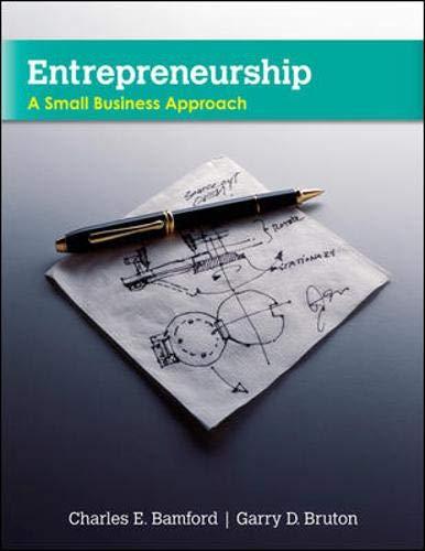Entrepreneurship: A Small Business Approach