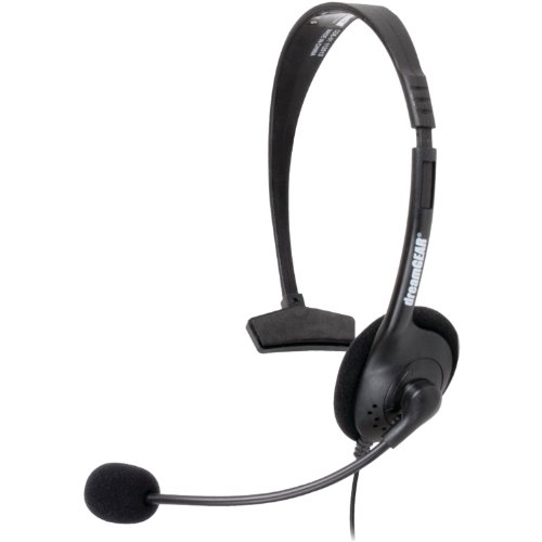 Xbox 360 Broadcaster Headset Black