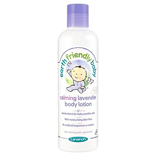 Earth Friendly Baby Calming Lavender Body Lotion (250ml) - Pack of 6 by Earth Friendly Baby