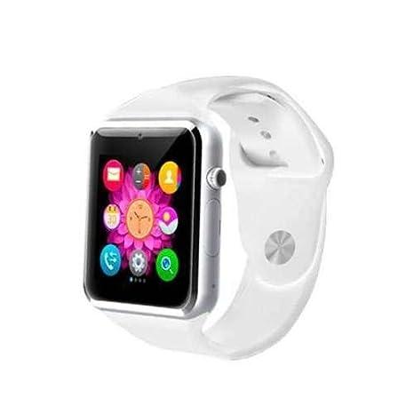 Swiss-Pro Leman 2.0 - Reloj inteligente con Bluetooth, color blanco: Amazon.es: Electrónica