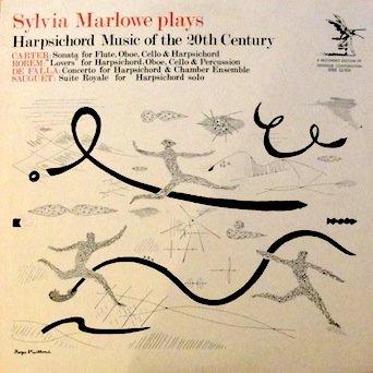 (Sylvia Marlowe Plays Harpsichord Music of the 20th Century: Carter: Sonata for Flute, Oboe, Cello & Harpsichord / Rorem: