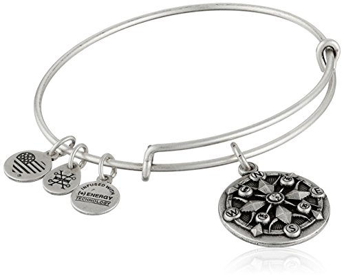 Alex and Ani Compass II Expandable Rafaelian Bangle Bracelet