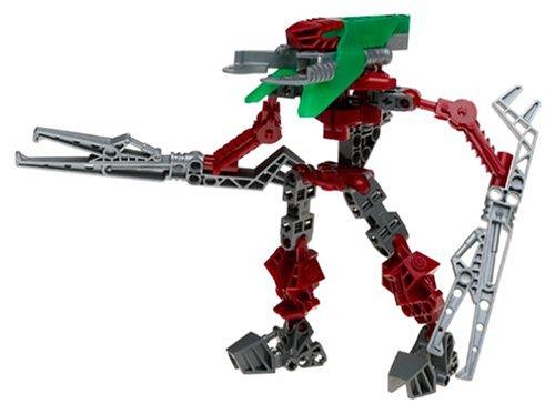 Bionicle LEGO VAHKI Figure #8614 Nuurahk Green