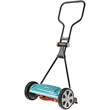 Amazon.com: Gardena 4018 Silent Cilindro Lawn Mower: Jardín ...
