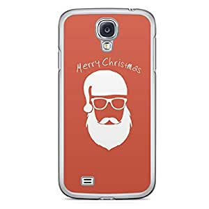 Merry Christmas Samsung Galaxy S4 Transparent Edge Case - Christmas Collection