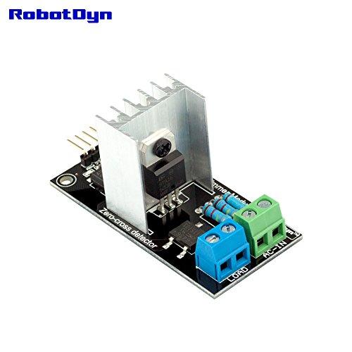 RobotDyn - AC Light Dimmer Controller Module for Arduino, STM32, ARM, AVR, Raspberry pi, 1 Channel, 3.3V/5V Logic, AC 50/60hz, 220V/110V (Ac Dimmer)