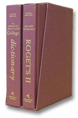 The American Heritage College Dictionary 4th Edition, PLUS Roget's II The New Thesaurus, 3rd Edition (The American Heritage College Dictionary Fourth Edition)