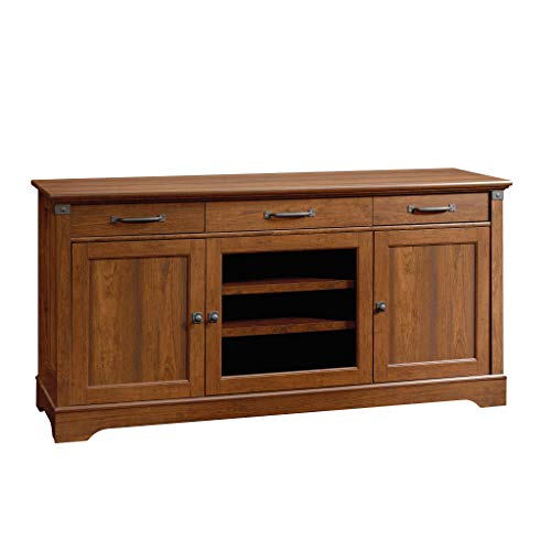 Sauder Carson Forge Credenza, For TVs up to 70 , Washington Cherry finish