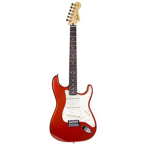 Fender FSR Standard Stratocaster Electric Guitar with Rosewood Fingerboard - Tangerine