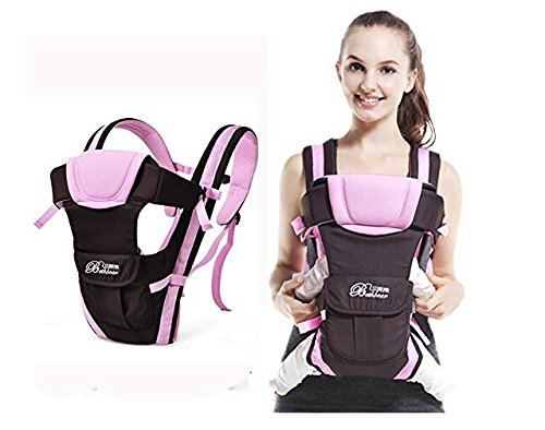 Baby Carrier,Aierly Breathable Ergonomic Infant Baby Carrier Backpack Front Pack Sling Wrap Newborn (Pink)